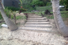 Stairs from the Beach to Oneatea
