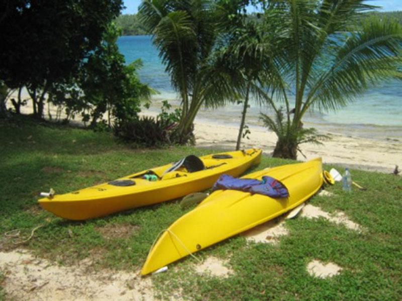 our-kayaks-beside-house-on-hinga